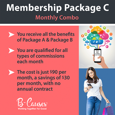monthly combo member package