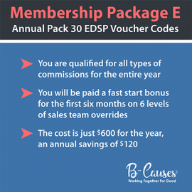 Annual Member Package (EDSP)  30 Pack